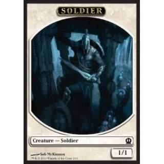 Soldier Token (White 1/1) (V.1)