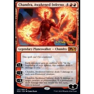 Chandra, Awakened Inferno (Version 2) - PROMO FOIL