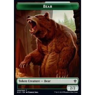 Bear Token (G 2/2) // Food Token (Version 4) - PROMO FOIL