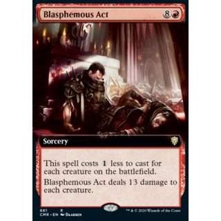 Blasphemous Act - PROMO FOIL