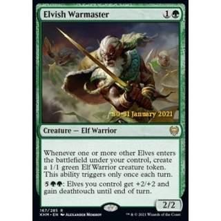 Elvish Warmaster (V.1) - PROMO FOIL