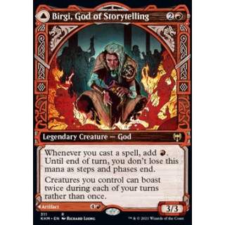 Birgi, God of Storytelling // Harnfel, Horn of Bounty - PROMO