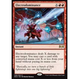 Electrodominance - PROMO FOIL