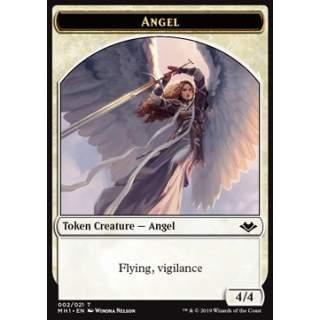 Angel Token (W 4/4 Vigilance) // Goblin Token (R 1/1)