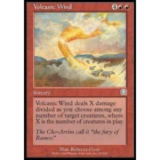 Volcanic Wind