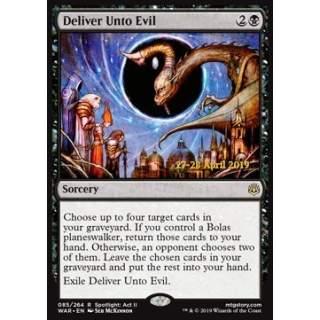 Deliver Unto Evil - PROMO FOIL