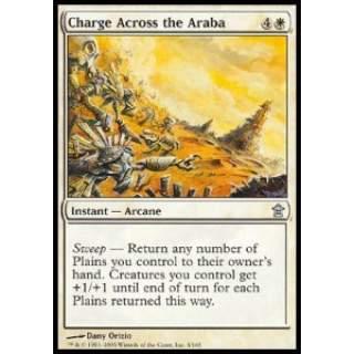 Charge Across the Araba