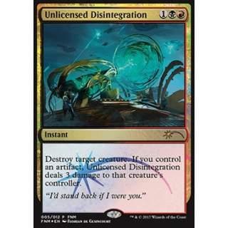 Unlicensed Disintegration - FOIL
