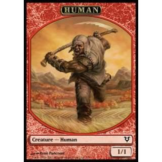 Human Token (Red 1/1)