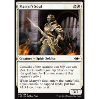 Martyr's Soul - FOIL