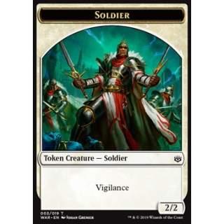 Soldier Token (White 2/2)