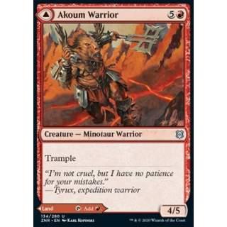 Akoum Warrior // Akoum Teeth - FOIL